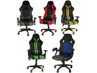 PC XBOX PS5 Gaming Computer Chair Ergonomic Adjustable Swivel Recliner Laptop Office Chair Home Work