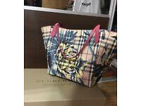 Burberry Canterbury handbag, haymarket check, Brand new condition