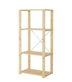 HEJNE IKEA Wooden Shelving / Storage Unit
