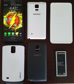 Wireless Charging Samsung Galaxy Note 4 with Extended Battery