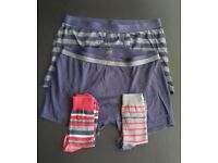 £5 for 2x Men Socks+ 2x Men Boxer Shorts Size XL Used but in Good Conditions