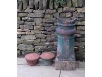 Ornate chimney pots