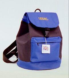 Brand new 0riginal Lidsac helmet protection rucksack