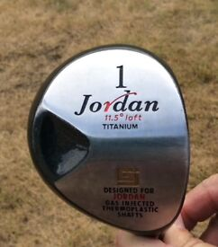 Jordan titanium 11.5 degree driver