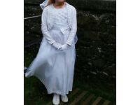 9-10 years communion dress