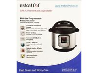 Brand new Instant Pot Duo 7-in1 multifunction cooker. 6l. Latest UK Version