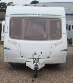 ABBEY GTS VOGUE 417 2006 4 BERTH CARAVAN