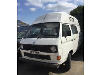 VW CAMPERVAN T25. PART EXCHANGE POSSIBLE. CLASSIC VOLKSWAGEN CAMPER.