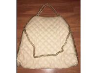 BRAND NEW HANDMADE ITALIAN LEATHER CHAIN BAG ( STELLA McMACARTNEY STYLE) £20