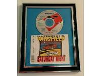 Framed CD - Whigfield - Saturday Night