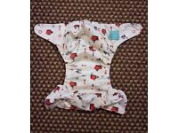 Charlie Banana One Size Cloth Nappy with 2 inserts | AHOY | £22 | GREAT CONDITION | Leeds