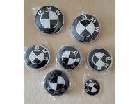 BMW Black & White Emblems