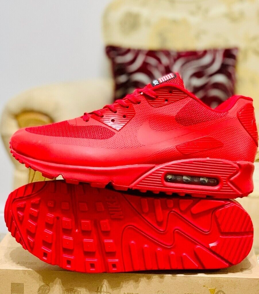 outlet store 6b659 333f0 nike air max 90 hyperfuse red independance day all sizes inc delivery  paypal yeezy x