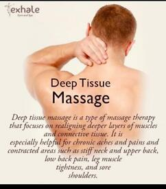 Professional Healing and Pain releasing Deep Tissue massage