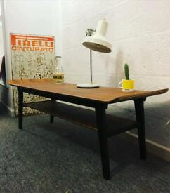 1960s coffee table - restored