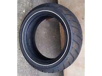 Harley Davidson Dunlop D407 180/65 B16 81H Rear Tyre