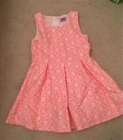 2-3 girls dress with lining