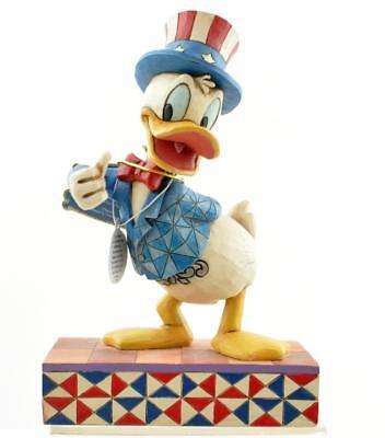 Jim Shore Donald Duck - Jim Shore Enesco Disney Traditions YANKEE DOODLE DUCK  DONALD DUCK 4027134