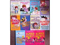 Horrid Henry books 40p - £1 each