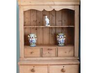 PINE TOP FOR CHEST OF DRAWERS FUNCTIONAL AND DECORATIVE