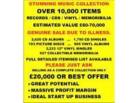 FANTASTIC VINYL / CD / PIC DISC / MEMORABILIA COLLECTION. 10,000+ ITEMS. MANY RARITIES