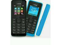 Unlocked Nokia 105-1112-6230-6300-2730-6700 Open To All Networks All Colours Available