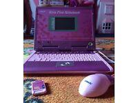 Pink Vtech xtra notebook laptop computer