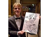 Wedding Entertainment with caricatures. Event Caricaturist from parties to corporate and much more
