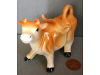 ceramic jersey cow figure