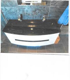 Designer Vanity and Double Sink