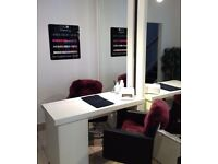 NAIL TECHNICIAN WANTED - COMMISSION BASED or TABLE RENTAL - CITY CENTRE