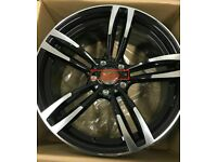 """18"""" Performance M4 Alloys Style Staggered fits BMW 1 2 3 4 5 6 Series / Vauxhall"""