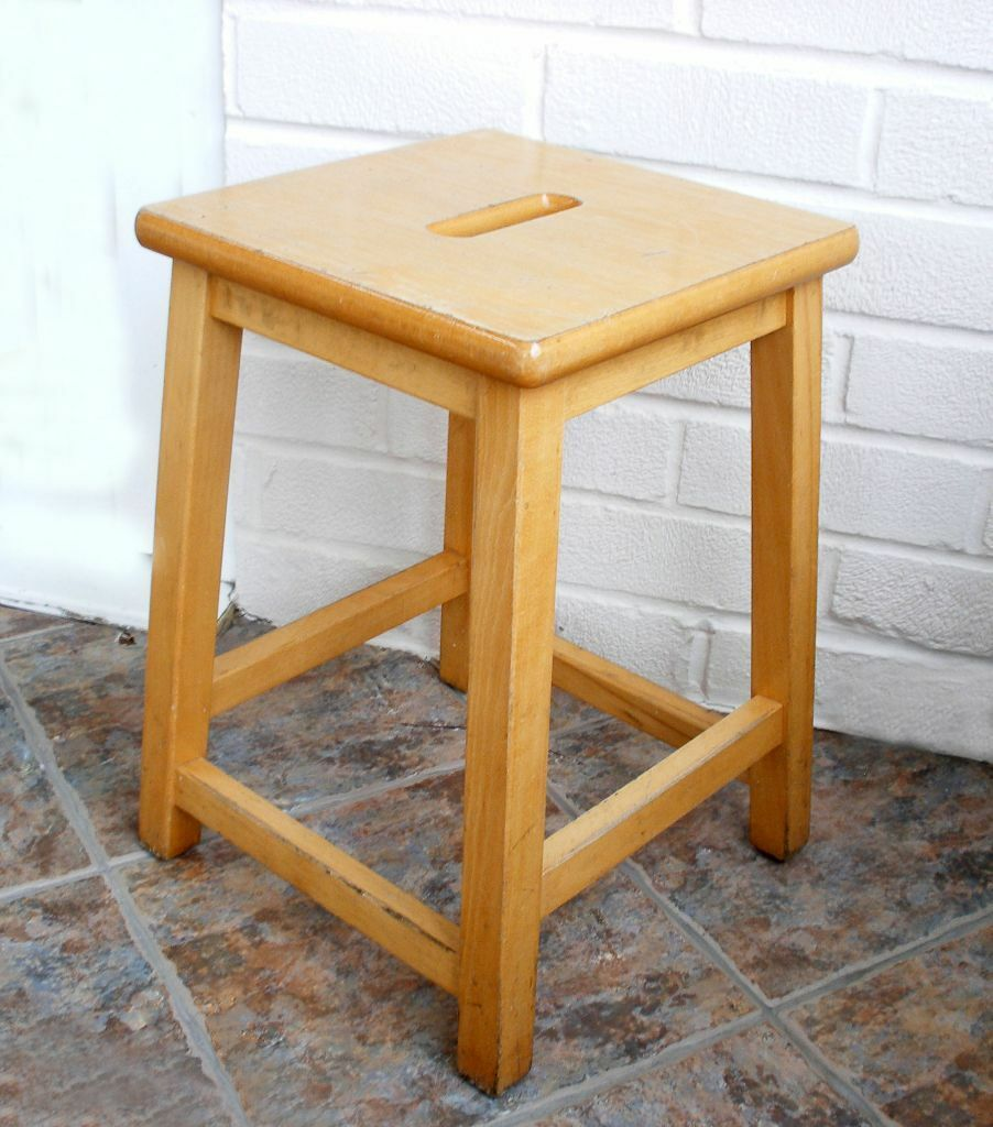 Vintage wooden school science/lab/art stool & Vintage wooden school science/lab/art stool | in York North ... islam-shia.org