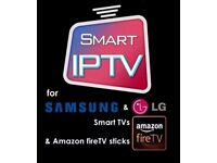 12 months IPTV subscription for Smart tv mag android amazon firestick every channel