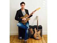 Guitar & Bass Lessons - South East London - All Abilities and Ages - Flexible Times