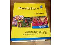 Rosetta Stone-Spanish Latin America Level 1-4