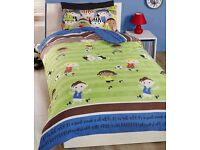 FOOTBALL FRIENDS SINGLE BEDDING, BRAND NEW