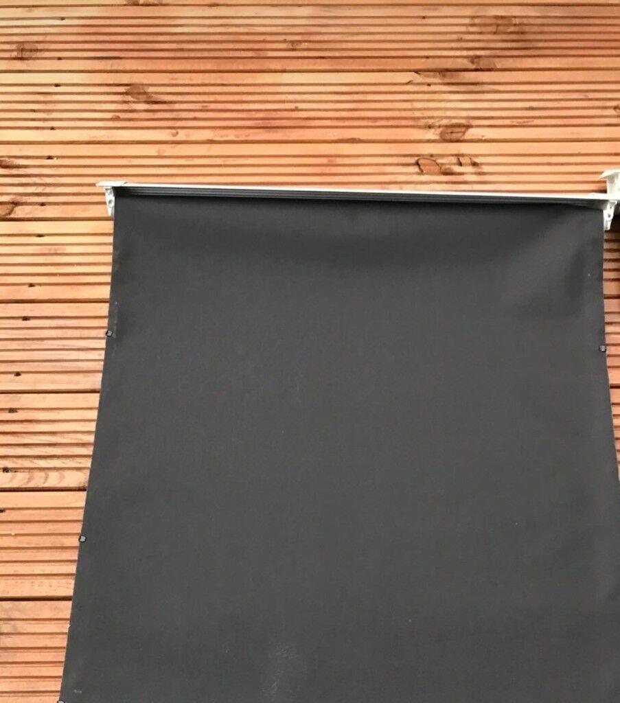 Black blackout blinds 2 £30 each