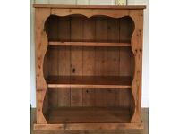 Shabby Chic Pine Bookcase