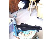 VINTAGE 50'S 60'S 70'S PREMIER PEDALS AND STANDS, GREAT CONDITION. ALSO MAPEX BASS DRUM PEDAL