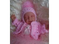 REBORN DOLL BABY GIRL GRACE CHILD FRIENDLY FROM 4YRS PLUS