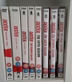 Dexter dvd boxset - Full Season 1-8