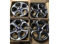 Fiesta ST line alloy wheels