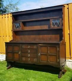 Large welsh dresser, kitchen dresser, storage cabinet