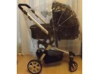pram, pushchair ,stroller raincover , good quality ,zipped and vented ,NEW
