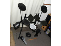 ROLAND V Drums TD-3 electronic drum kit sticks drum key mesh snare