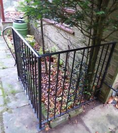 Wrought Iron Corner Fencing Railings