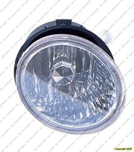 Fog Lamp Passenger Side Outback High Quality Subaru Legacy 2005-2006