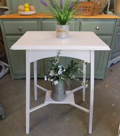 Painted White Side /Hall Table