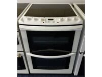 White Tricity 60cm Ceramic Cooker - 12 Months Warranty - £190